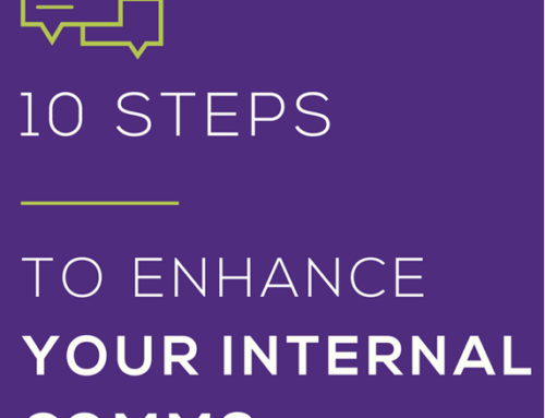 HOW TO IMPROVE INTERNAL COMMS – 10 STEP GUIDE