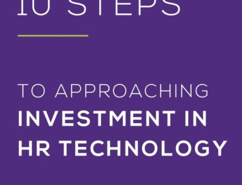 10 steps to approaching investment in HR technology