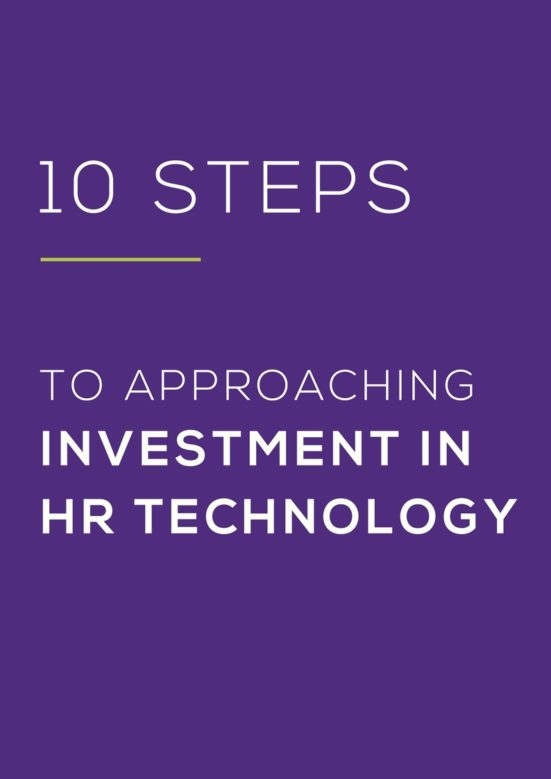 INVESTING IN HR TECHNOLOGY