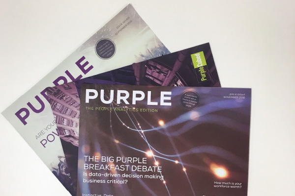 Employee Engagement Technology - Purple Cubed