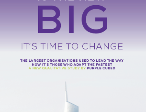 PURPLE CUBED CHANGE RESEARCH – FAST IS THE NEW BIG