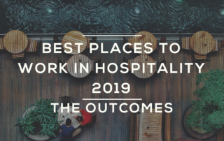 Best Places to work in hospitality 2019 findings