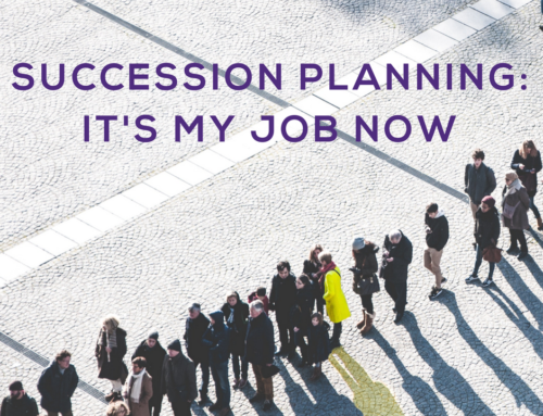 Succession planning: It's my job now !